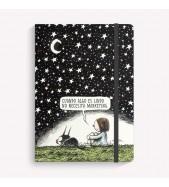 Cuaderno Mediano Punteado Noche Estrellada