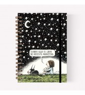 Cuaderno Anillado A5 Noche Estrellada