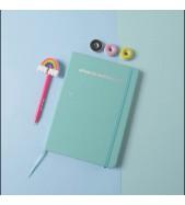 Cuaderno A5 Soft Verde Agua