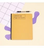 Cuaderno Error 20x25