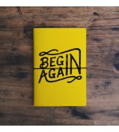 Cuaderno Begin Again