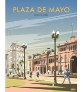 Póster Plaza de Mayo Grande