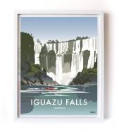 Póster Iguazu Falls Grande