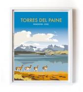 Póster Torres del Paine Grande