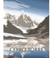 Póster Cerro Torre Grande