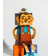 Pinocho Paper Toy