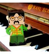 Lennon Paper Toy