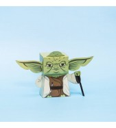 Yoda Paper Toy